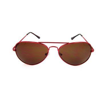 Flying Machine  Aviator Sunglasses For Men_fmsse1103col260 - Brown