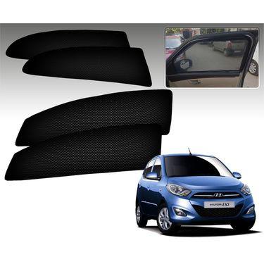 Set of 4 Premium Magnetic Car Sun Shades for HyundaiI10