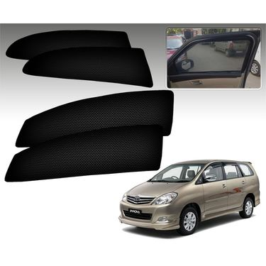 Set of 4 Premium Magnetic Car Sun Shades for ToyotaInnova