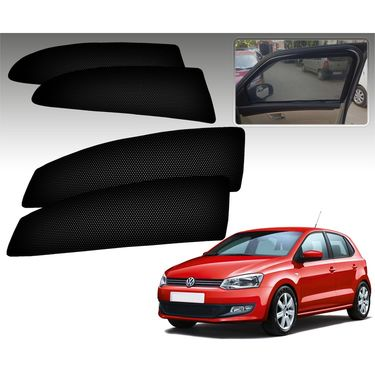 Set of 4 Premium Magnetic Car Sun Shades for VolkswagenPolo