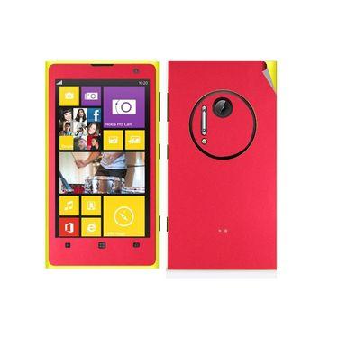 Snooky Mobile Skin Sticker For Nokia Lumia 1020 21028 - Red