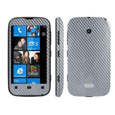 Snooky Mobile Skin Sticker For Nokia Lumia 510 20964 - silver