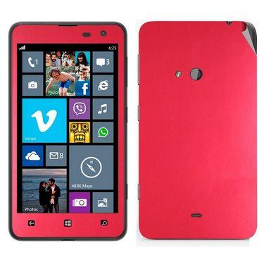 Snooky Mobile Skin Sticker For Nokia Lumia 625 21000 - Red