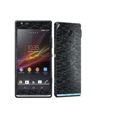 Snooky Mobile Skin Sticker For Sony Xperia Sp M35h C5302 20866 - Black