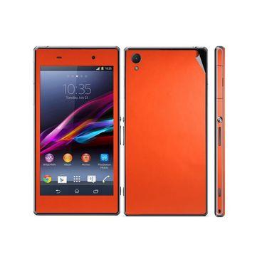 Snooky Mobile Skin Sticker For Sony Xperia Z1 L39h 20839 - Orange