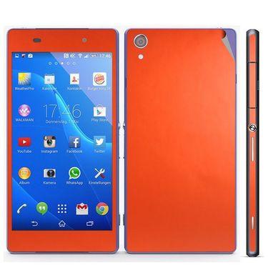 Snooky Mobile Skin Sticker For Sony Xperia Z2 20843 - Orange