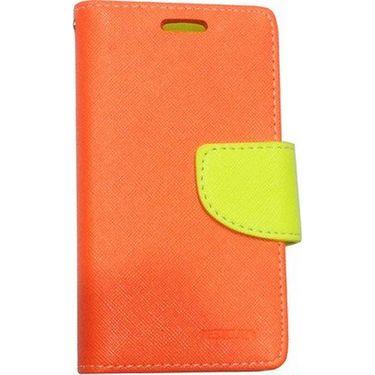 BMS lifestyle Mercury flip cover for Moto E - orange