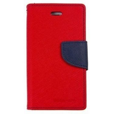 BMS lifestyle Mercury flip cover for Moto E - red