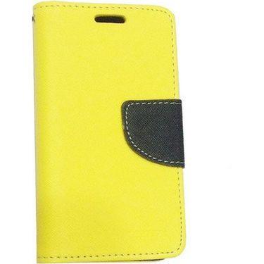 BMS lifestyle Mercury flip cover for Nokia XL - Yellow