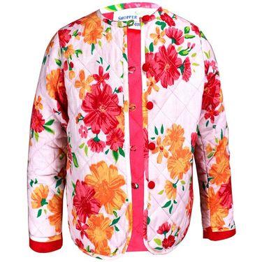 ShopperTree Orange Cambric Print Dress_ST-1390