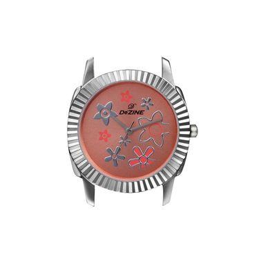 Dezine Round Dial Metal Wrist Watch For Women_906pnkch - Pink