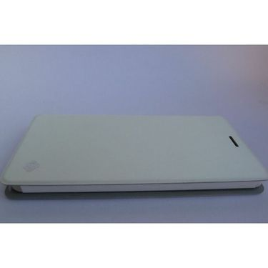 Flashmob C230FC Premium Satin Finish Flip Cover For Xiaomi Mi4 - White