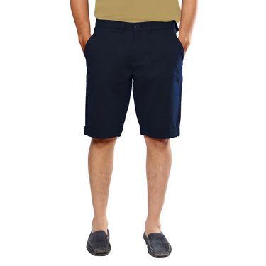 Uber Urban Cotton Shorts_15001nvy - Dark Blue