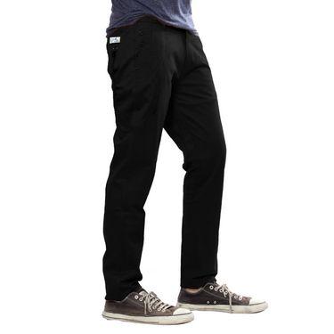 Uber Urban Cotton Trouser_p04blk - Black