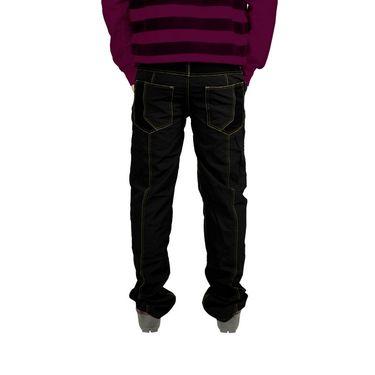 Uber Urban Cotton Trouser_9bndtrsblk - Black