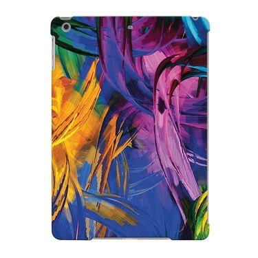 Snooky Digital Print Hard Back Case Cover For Apple iPad Air 23667 - Blue