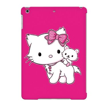 Snooky Digital Print Hard Back Case Cover For Apple iPad Air 23671 - Pink