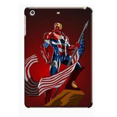 Snooky Digital Print Hard Back Case Cover For Apple iPad Mini 23722 - Maroon
