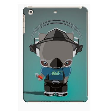 Snooky Digital Print Hard Back Case Cover For Apple iPad Mini 23741 - Green