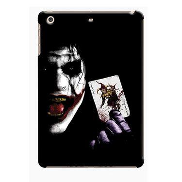 Snooky Digital Print Hard Back Case Cover For Apple iPad Mini 23822 - Black