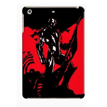 Snooky Digital Print Hard Back Case Cover For Apple iPad Mini 23742 - Black