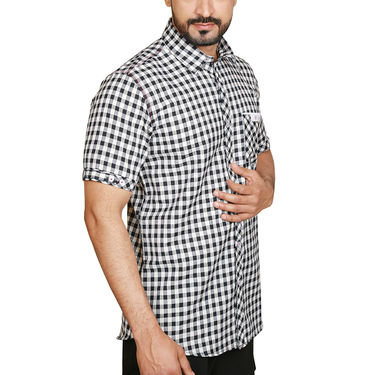 Pack of 5 Sparrow Clothings Cotton Checks Shirts_wjc504 - Multicolor