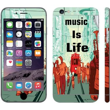 Snooky 28413 Digital Print Mobile Skin Sticker For Apple Iphone 6 - Multi