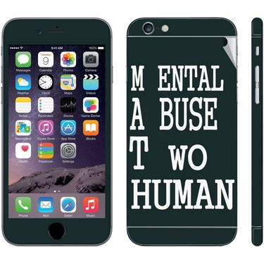 Snooky 28401 Digital Print Mobile Skin Sticker For Apple Iphone 6 - Multi