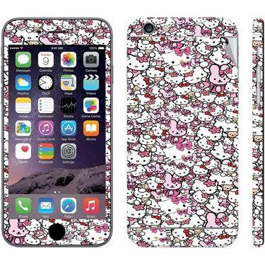Snooky 28452 Digital Print Mobile Skin Sticker For Apple Iphone 6 Plus - Multi