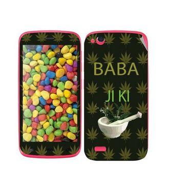 Snooky 27744 Digital Print Mobile Skin Sticker For Gionee Elife E3 - Green