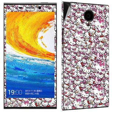 Snooky 27799 Digital Print Mobile Skin Sticker For Gionee Elife E7 - Multi