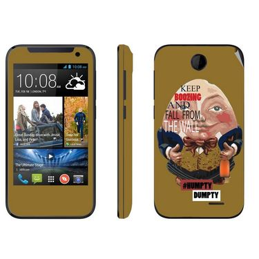 Snooky 27812 Digital Print Mobile Skin Sticker For HTC Desire 310 - Multi