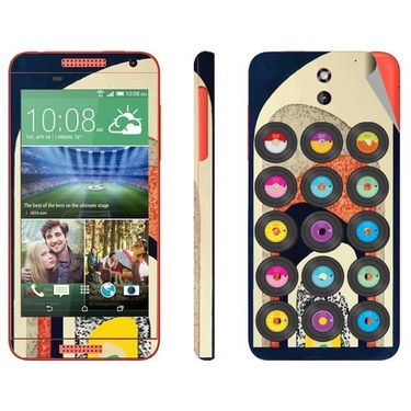 Snooky 28091 Digital Print Mobile Skin Sticker For HTC Desire 610 - Multi