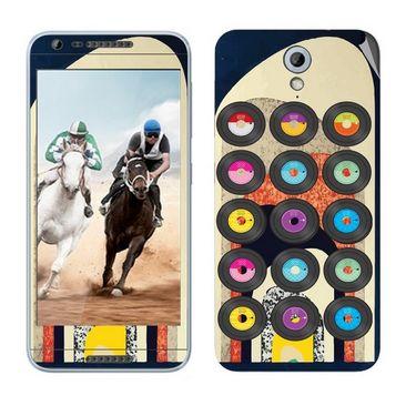 Snooky 28228 Digital Print Mobile Skin Sticker For HTC Desire 820 mini - Multi