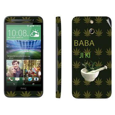 Snooky 28262 Digital Print Mobile Skin Sticker For HTC One E8 - Green