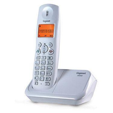 Gigaset A450 cordless phone - White