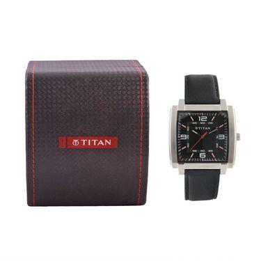 Titan Analog Square Dial Watch_1586sl02 - Black