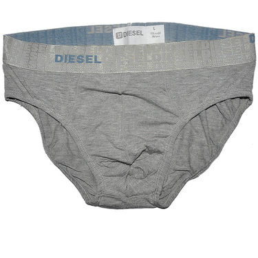 Diesel Cotton Brief_Dslgb - Grey