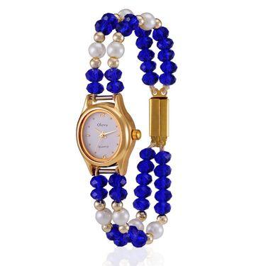 Pack of 5 Oleva Analog Watches_211g013 - White
