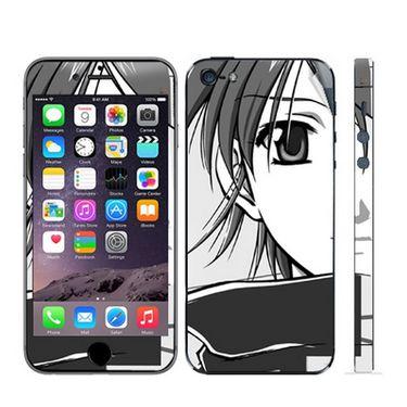 Snooky 39050 Digital Print Mobile Skin Sticker For Apple Iphone 5 - Gray