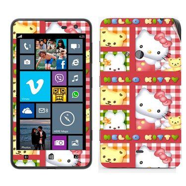 Snooky 39258 Digital Print Mobile Skin Sticker For Nokia Lumia 625 - Pink