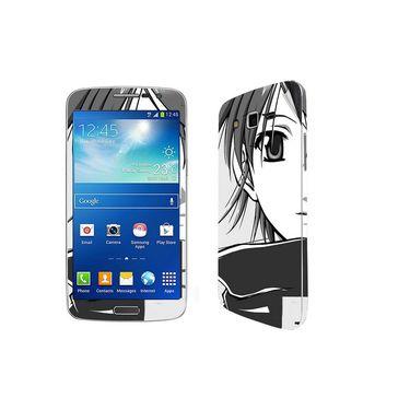 Snooky 39458 Digital Print Mobile Skin Sticker For Samsung Galaxy Grand 2 G7102 - Gray