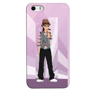 Snooky 35092 Digital Print Hard Back Case Cover For Apple iPhone 4s   - Pink