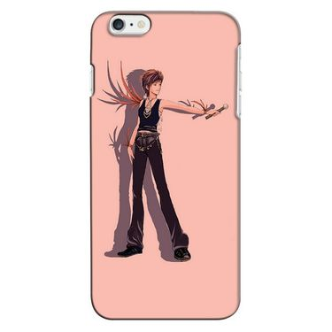 Snooky 35191 Digital Print Hard Back Case Cover For Apple iPhone 6 - Mehroon