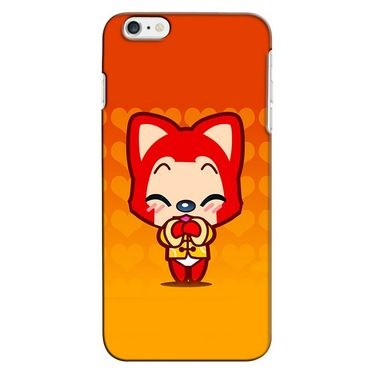 Snooky 35230 Digital Print Hard Back Case Cover For Apple iPhone 6 - Orange