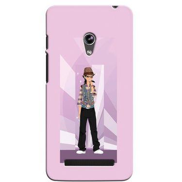 Snooky 36103 Digital Print Hard Back Case Cover For Asus Zenphone 5 - Pink