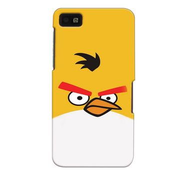 Snooky 35382 Digital Print Hard Back Case Cover For Blackberry Z10 - Yellow