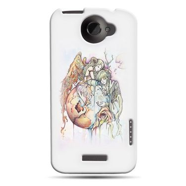 Snooky 37256 Digital Print Hard Back Case Cover For HTC ONE X S720E - Multicolour