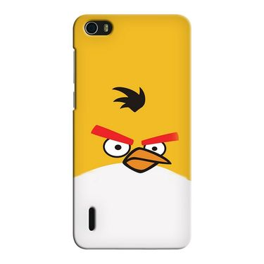 Snooky 37463 Digital Print Hard Back Case Cover For huawei honor 6 - Yellow