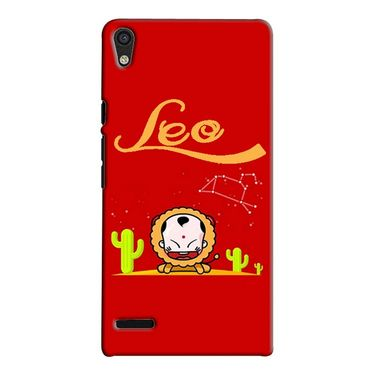 Snooky 38281 Digital Print Hard Back Case Cover For Huawei Ascend P6 - Red